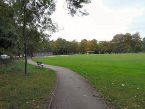 A path in Torkington Park